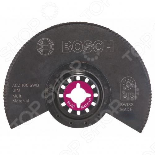 Диск пильный сегментный с волнистой заточкой Bosch BIM ACZ 100 SWB диск пильный bosch multimaterial 2608640510