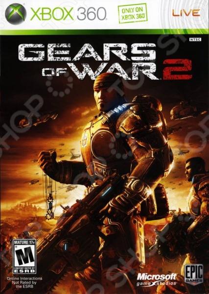 фото Игра для Xbox 360 Microsoft Gears of War 2 (rus), Игры для игровых консолей