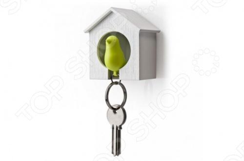 Брелок для ключей со свистком Hi-Tech «Птичка в скворечнике» BH-009 брелок для поиска ключей в комплекте свисток цена