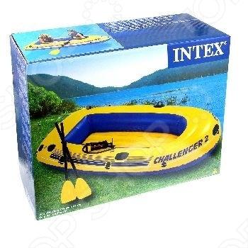 Лодка надувная Intex «Челленджер-2» 68367 лодка надувная intex эксплорер 200 58330