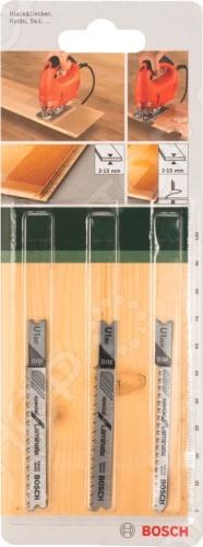 Набор пильных полотен Bosch SET U BIM насадка для кухонного комбайна bosch muz8cc2