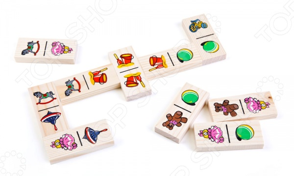 Домино Томик «Игрушки» игрушки для детей