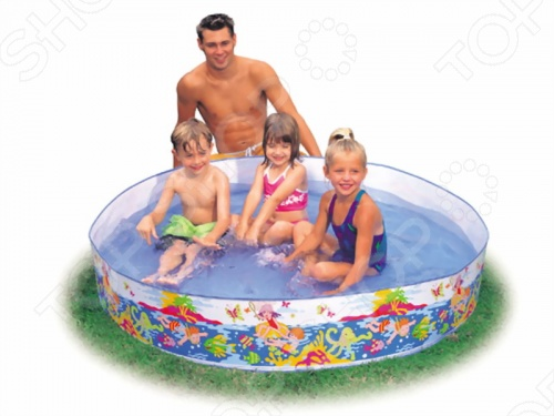 Бассейн каркасный Intex 56451 бассейн каркасный jilong rectangular 300х207х70см голубой 17441eu