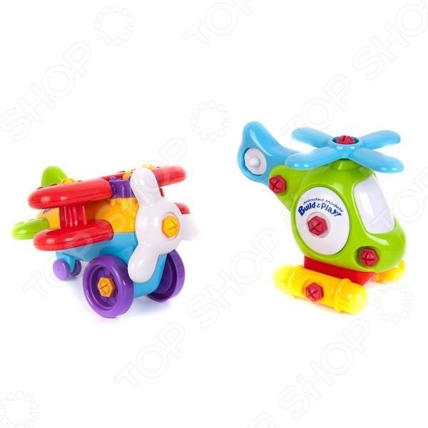 Игровой набор Keenway Аэроплан и вертолет  keenway игровой набор кофеварка и тостер keenway