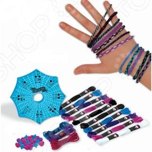 Набор для плетения фенечек Fashion Angels «Школа монстров» 1002421
