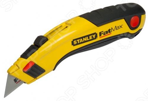 Нож строительный STANLEY FatMax с выдвижным лезвием лезвия для ножа stanley fatmax utility