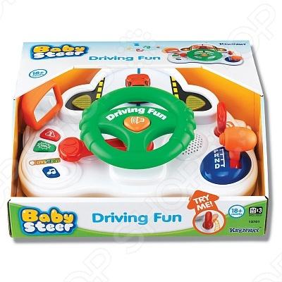 Развивающая игрушка Keenway «Занимательное вождение» музыкальная развивающая игрушка keenway занимательное вождение 13701