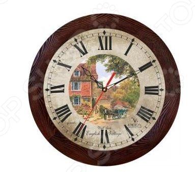 цены Часы настенные Вега Д 3 МД/7 144 «English Village»