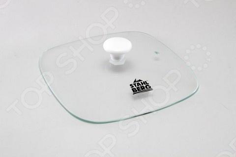 Крышка к мармиту стеклянная Stahlberg 5828 изготовлена из жаропрочного стекла. Плотно прилегает к мармиту. Имеет отверстие для паровыпуска. Предусмотрена для модели Stahlberg 5866-S.