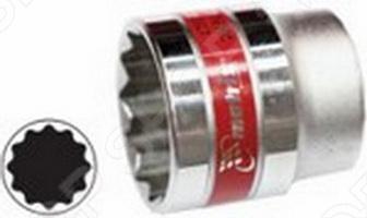Головка торцевая MATRIX MASTER 12-гранная используется для монтажа демонтажа болтовых соединений. Изготовлена из хромванадиевой стали, имеет полированное и хромникелевое покрытие. Отличается высокой прочностью и износостойкостью, твердость материала рабочей части головки - 42 HRс, что соответствует требованиям ГОСТа. Изделие имеет шестигранный рабочий профиль. Его скругленные углы и дополнительные канавки позволяют более равномерно распределять усилие, которое передается от инструмента на головку болта или гайку, благодаря чему достигается максимальная эффективность завинчивания. Широко применяется как на производстве, так и в быту, но особенно часто используется при авторемонте.