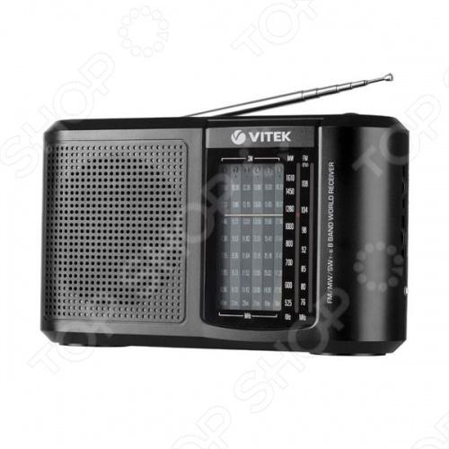 Радиоприемник Vitek VT-3590 радиоприемник rolsen rfm 330