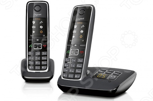 Радиотелефон Gigaset C530A Duo радиотелефон dect gigaset c530a duo черный