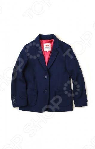 Appaman - основан в 2003 году дизайнером Харальдом Хузуме. Appaman имеет уникальный взгляд на скандинавский стиль AMERIPOP. Хузум находит вдохновение на улицах Бруклина и переводит его в свою постоянно меняющуюся палитру ярких одежд. Appaman, воплощая свои яркие творческие проекты, не забывает об удобстве и качестве для маленьких и главных людей. Вы считаете, что детская одежда должна быть не только удобной, но также стильной и индивидуальной Тогда бренд Appaman USA для Вас! Пиджак Appaman School blazer. Пиджак имеет розовую атласную подкладку. Длинные рукава с пугавицами на манжетах. Спереди два кармана. Состав: 70 полиэстер, 27 вискоза, 3 спандекс.