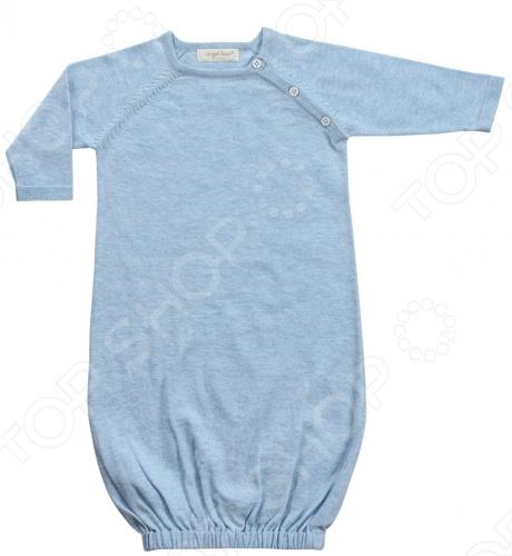 Сорочка Angel Dear ClassicsВодолазки. Рубашки<br>Angel Dear, создает классическую одежду для новорожденных и детей младшего возраста от 0 до 4 лет . При создании учитываются самые современные тенденции в мире моды, и особое внимание уделяется деталям. Каждая коллекция имеет свой неповторимый стиль, который дополняется различными милыми аксессуарами, чтобы сохранить ощущения столь сладостного периода детства. Комфорт ребенка - основополагающий принцип в создании коллекций каждого сезона. Линии одежды Angel Dear вы можете увидеть в лучших бутиках и магазинах по всей территории США. Сорочка Angel Dear Classics. Очаровательная сорочка с длинными рукавами, с удобной застежкой на пуговицах и резинкой в нижней части. Модель широкого свободного покроя дарит ощущение свободы и легкости. Порадуйте Вашу малышку столь уютной сорочкой! Состав: 100 облегченный вязаный хлопок.<br>