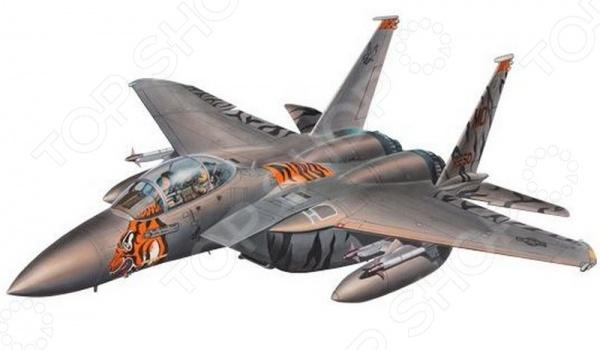 Сборная модель истребителя Revell F-15 Eagle сборная модель истребителя revell f 15e eagle