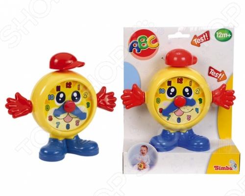 Игрушка развивающая Simba Часики - станет замечательным подарком для вашего малыша. Игрушка развивает мелкую моторику, координацию движения, формирует цветовосприятие и представление о причинно-следственой связи. Нажав на шапочку будильника малыш услышит веселый звук. Игрушка на долго привлечет внимание ребенка и он с увлечением будет открывать для себя новые возможности. Изготовлена из прочного и безопасного пластика.