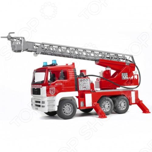 Машина пожарная Bruder Man 02-771 bruder автокран mack с модулем со световыми и звуковыми эффектами красный bruder
