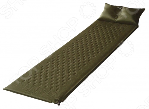 Коврик туристический самонадувающийся с подушкой Larsen Camp HT006 туристический топор mora camp 1991 mg