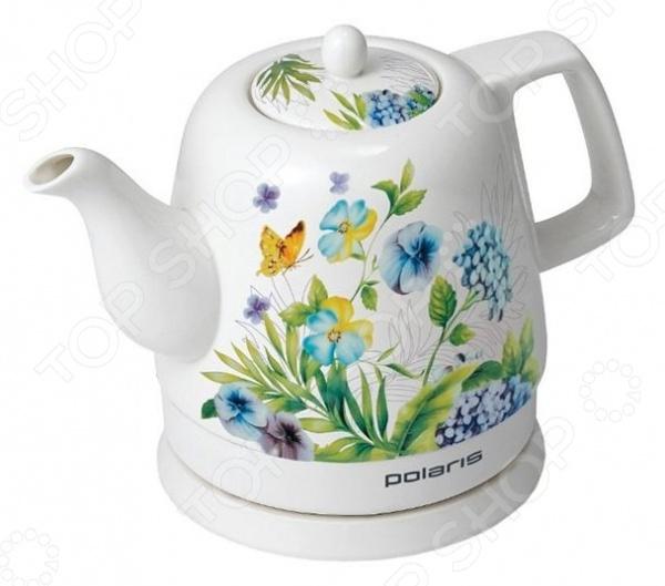 Чайник Polaris PWK1299CCR кофеварка polaris pcm 0210 450 вт черный