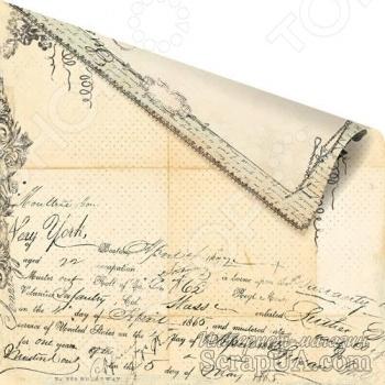 фото Бумага для скрапбукинга двусторонняя Prima Marketing Folio, купить, цена