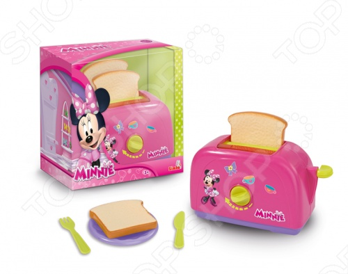 Тостер игрушечный Simba Minnie Mouse утюг simba minnie mouse с водой 4735135