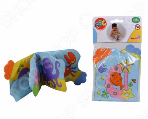 Книжечка Simba развивающая для ванны 4017214 игрушка для вашего малыша, которая отлично подойдет для игр в ванной. Она подходит для изучения цветов и морских животных. Мягкие непромокаемые странички с прослойкой воздуха пищат, если на них нажимать, что приведет в восторг вашего малыша. Ваш ребенок очень быстро научится различать цвета и останется довольным от игрушки.