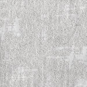 фото Бумага для скрапбукинга Bazzill Basics «Письмо», купить, цена