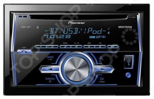 Автомагнитола Pioneer FH-X700BT это отличная автомагнитола, в которой есть цифровой тюнер. Кроме того, установив эту магнитолу к себе в автомобиль вы получите CD-проигрыватель, MP3-проигрыватель и усилитель. Кроме того, вы сможете настроить звучание с помощью эквалайзера. Пиковая мощность: 4x50 Вт. Магнитола прочитывает следующие форматы: CD-Audio, MP3, WMA, AAC. Дисплей монохромный, есть поддержка RDS, RDS EON, RDS PTY. На передней панели есть USB-вход. Эта магнитола отлично дополнит дизайн салона вашего автомобиля.