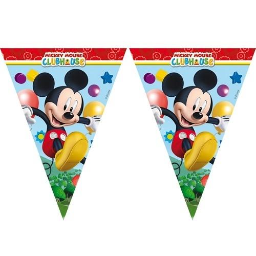 Гирлянда детская Procos «Веселый Микки» disney гирлянда детская на ленте тачки с днем рождения