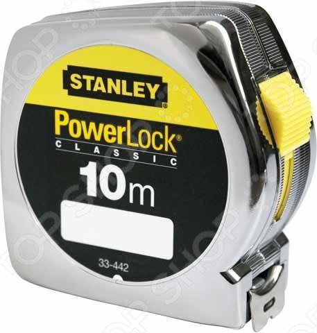 Рулетка Stanley Powerlock 0-33-442 stanley powerlock 5m 0 33 194 рулетка silver