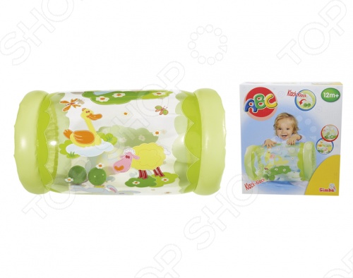 Надувной ролл Simba 4015658 поможет развить двигательную активность малышей. На игрушку можно садиться или кататься на ней на животе, а также опираться при вставании. Для начала игры необходимо просто надуть цилиндр. Два звонких шарика внутри игрушки будут долго привлекать внимание малыша. Надувной ролл Simba 4015658 поможет укрепить вашему ребенку мышцы спины и ножки малыша.