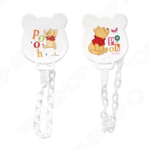фото Клипса на цепочке Disney Baby «Мои друзья Тигруля и Винни» 13587, Пустышки и прорезыватели для зубов