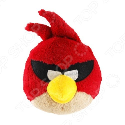 Игрушка мягкая со звуком Angry Birds «Красная птица» кигуруми angry birds красная