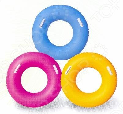 Товар продается в ассортименте. Цвет изделия при комплектации заказа зависит от наличия цветового ассортимента товара на складе. Надувной круг Bestway 36084 изготовлен из прочного винила. Рекомендован для детей от 10 лет. Выполнен в ярком цвете и легко заметен на воде. Используется для отдыха на море, озере, бассейне и других местах. Диаметр 91 см.