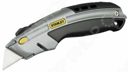 Нож строительный STANLEY DynaGrip с быстрой сменой лезвия