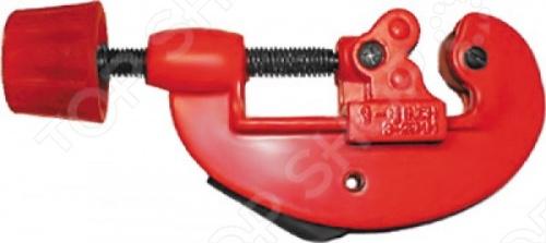 Труборез FIT - ручной инструмент тип G 3-28 мм., предназначен для труб из цветных металлов. Инструмент изготовлен из алюминиевого сплава, а режущий ролик из инструментальной стали.