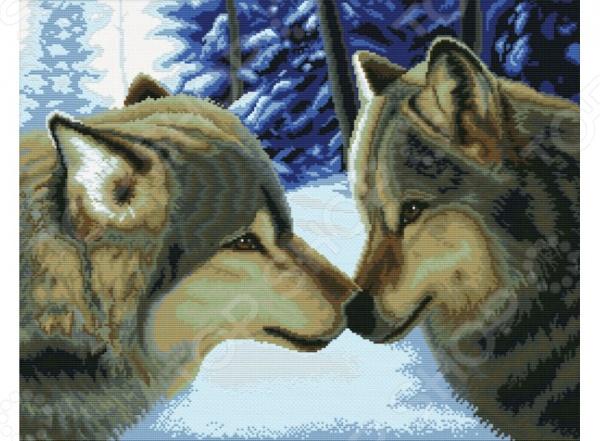Набор для вышивания Белоснежка Два волка