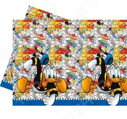 Скатерть детская Procos «Дональд Дак-утиные истории» посуда и скатерти procos самолеты 120x180 см