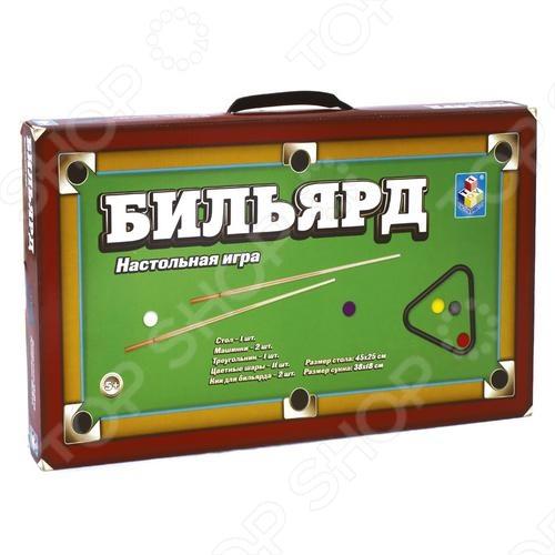 Бильярд настольный 1 TOY Т52442