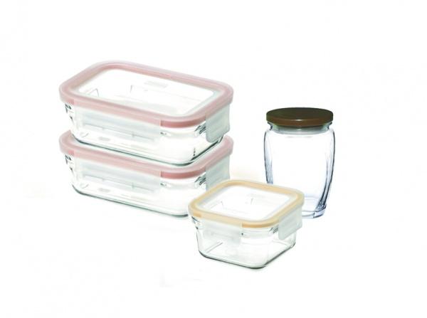 Набор контейнеров Glasslock GL-1081 набор контейнеров для сыпучих продуктов 3 штуки glasslock gl 1107