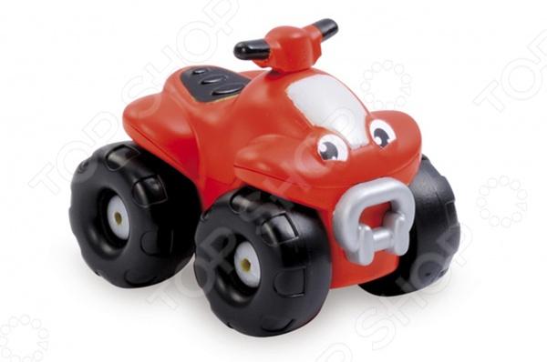Квадроцикл Smoby 211284. В ассортиментеМотоциклы<br>Товар продается в ассортименте. Цвет изделия при комплектации заказа зависит от наличия товарного ассортимента на складе. Квадроцикл Smoby 211284 станет замечательным подарком для вашего малыша. Играя с ним ребенок сможет весело проводить время и получить огромное количество удовольствия от веселой и энергичной игры. Квадроцикл выполнен из ударопрочного пластика, который не боится серьезных нагрузок и может быть использован даже в водной среде. Подарите малышу возможность весело проводить время за игрой с квадроциклом Smoby 211284.<br>