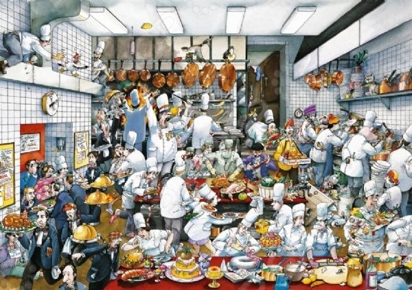Пазл 1500 элементов Heye «Приятного аппетита» Roger BlachonПазлы (1001–3000 элементов)<br>Пазл 1500 элементов Heye Приятного аппетита Roger Blachon прекрасный комплект для развлечения и приятного времяпрепровождения в кругу семьи. Пазл предназначен не только для детей, его сборку могут проводить и взрослые. За основу рисунка взяты произведения европейских художников, поэтому его можно смело повесить на стенку как предмет искусства. Особенности:  Живописная картинка  Увлекательный процесс сборки  Детали из качественного картона. Для более продуманной сборки стоит прочитать и изучить инструкцию. В ней можно найти кучу интересных приёмов и подсказок.<br>
