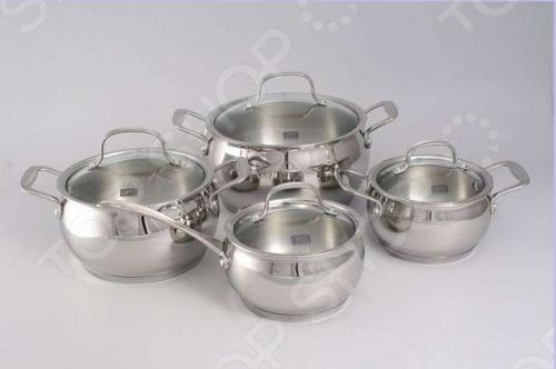 Набор кухонной посуды Gipfel FORUM 1548 кастрюля 5 л gipfel smart 1556