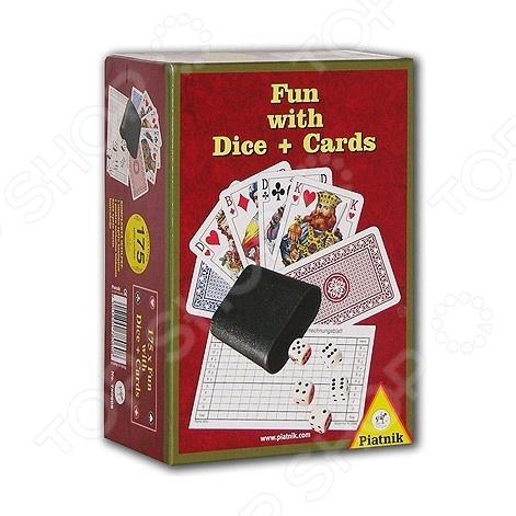Игра настольная Piatnik «175 игр» игры для малышей игр и ко настольная игра красавица и чудовище