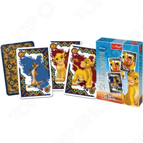 Карточная игра Акулина Trefl «Король Лев» все цены