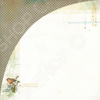 фото Бумага для скрапбукинга двусторонняя Basic Grey Bowler Hat, купить, цена