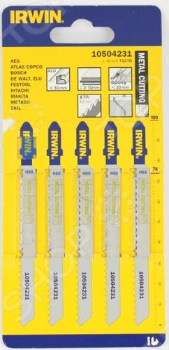 Пилки для электролобзика IRWIN T127D HSS имеют 3 вида угла заточки зубьев для быстрой и чистой работы. Быстрая и гладкая резка во всех видах древисины. В комплекте 5 штук- 100 мм, шаг 3мм.