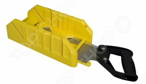Ножовка STANLEY 1-19-800 со стуслом стусло stanley 1 20 800 для плотницких работ с ножовкой 560мм