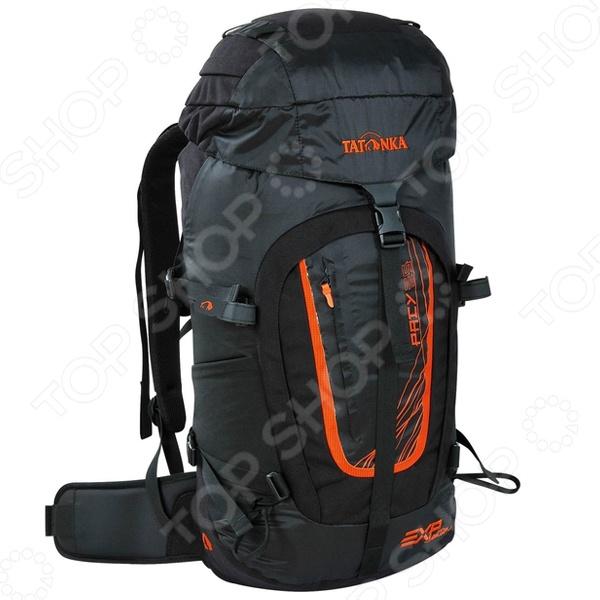 Рюкзак туристический Tatonka Pacy 35 EXPТуристические рюкзаки и аксессуары<br>Рюкзак Tatonka Pacy 35 EXP станет незаменимым спутником для настоящего любителя приключений, активного отдыха и путешествий. В любой дороге, в любом походе крайне необходимо иметь возможность упаковать, как можно большее количество нужных и полезных вещей и снаряжение. Прочный материал, из которого изготовлен рюкзак, не выгорает на солнце, выдерживают приличные нагрузки, а продуманный крой и конструкция, позволяют рационально использовать весь имеющийся полезный объем. Удобные лямки дает возможность равномерно распределить нагрузку не только на плечи, но и по всей поверхности спины, а так же пояснице. Они обеспечат вам непревзойденный комфорт и легкость передвижения на любой местности и в любой остановке. Все вышеперечисленные характеристики рюкзака обеспечат вам комфорт, уверенность и радость от каждого нового приключения.<br>