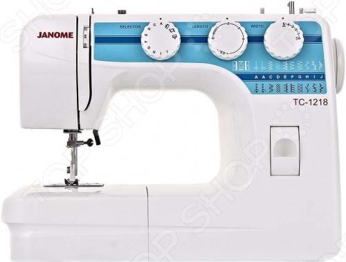Швейная машина Janome TC-1218 электромеханическая швейная машина vlk napoli 2100